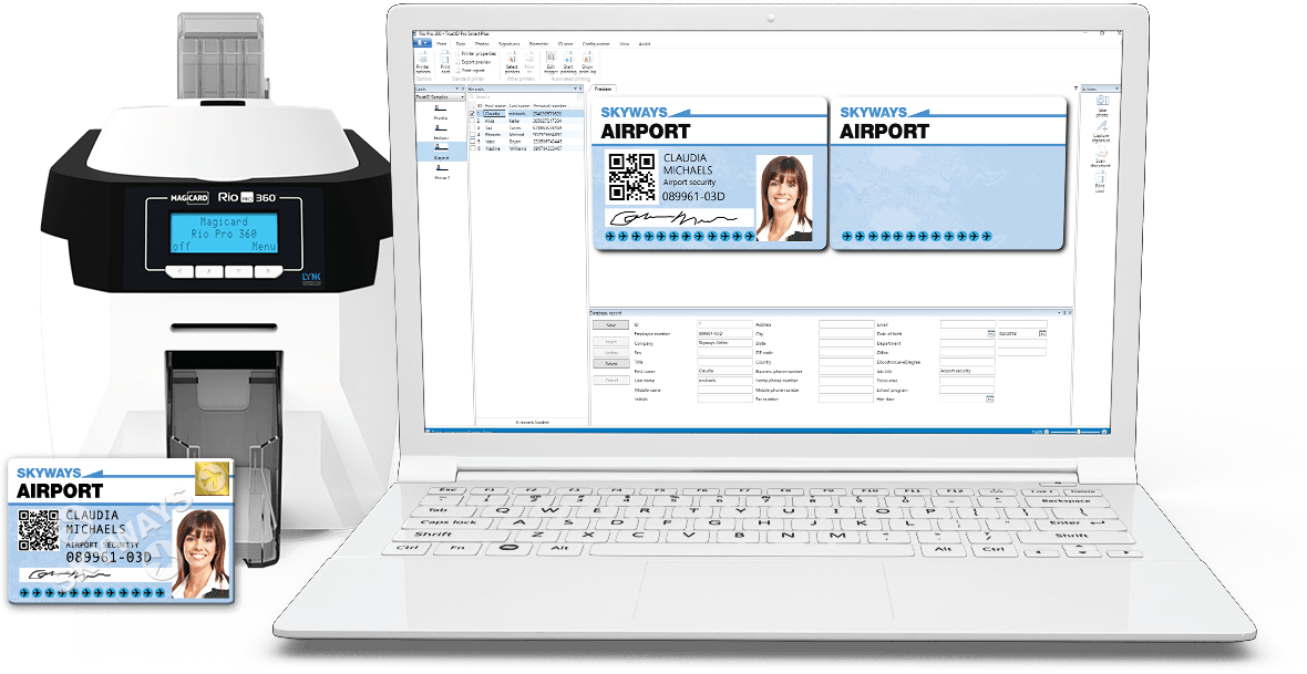 id card design and management software trustid
